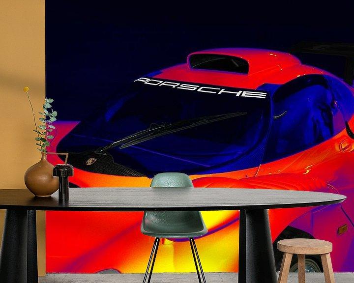 Beispiel fototapete: Porsche 911 GT1 von aRi F. Huber