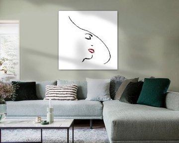 Stijlvol in wit van Natalie Bruns