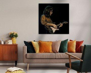 Rory Gallagher Schilderij van Paul Meijering