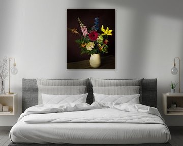 Klassisches Blumenstillleben von Joske Kempink