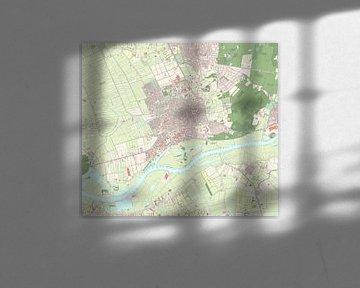 Kaart vanWageningen