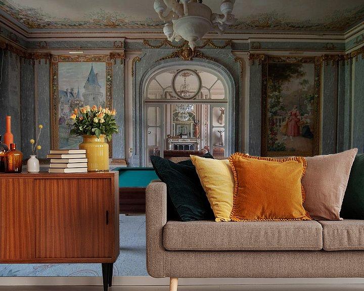 Beispiel fototapete: Billardzimmer von lotte .de Bruyn