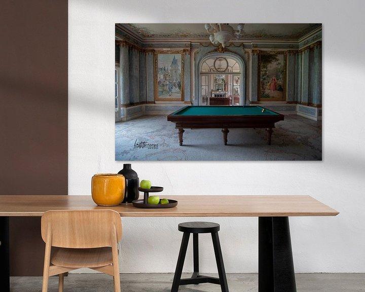 Beispiel: Billardzimmer von lotte .de Bruyn