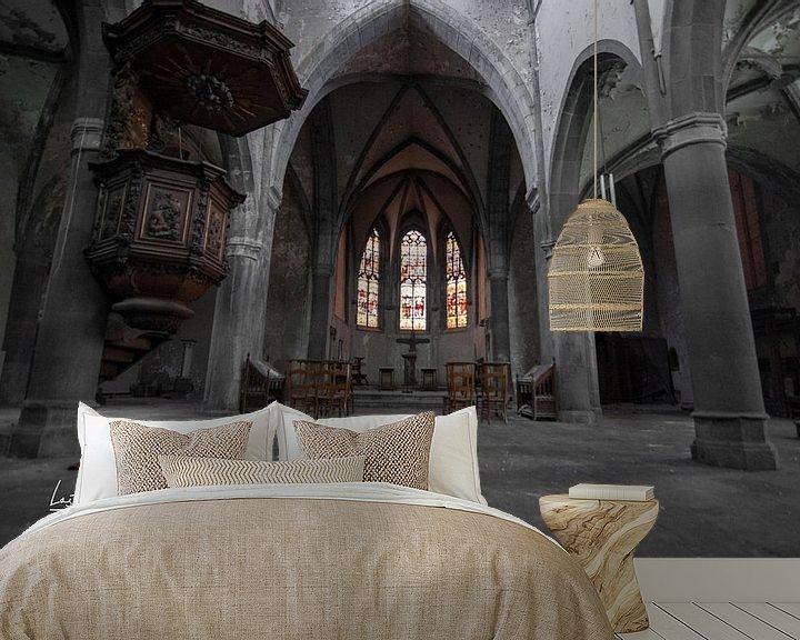 Beispiel fototapete: Kirche von lotte .de Bruyn