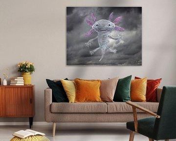 Der Gott des Axolotls von Bianca Wisseloo