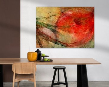 Hommage aan een appel van Anita Snik-Broeken