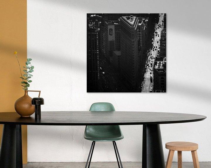 Sfeerimpressie: Flatiron building New York van Pieter Wolthoorn