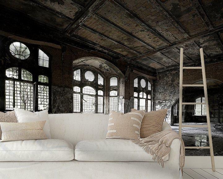 Impression: Un vieux hall dans un bâtiment délabré sur Frank Herrmann