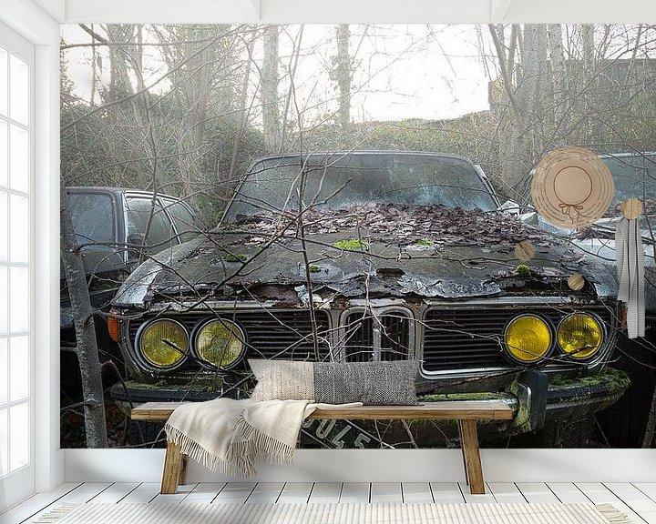 Beispiel fototapete: Verlorener BMW von Kelly van den Brande