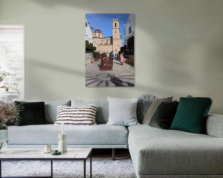 Sfeerimpressie: Old Altea Spanje, Costa Blanca van Elly Meijer - Willemsen
