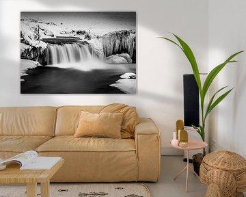 Godafoss-Wasserfall Island von Mario Calma