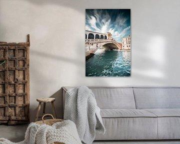 Rialto brug in Venetië