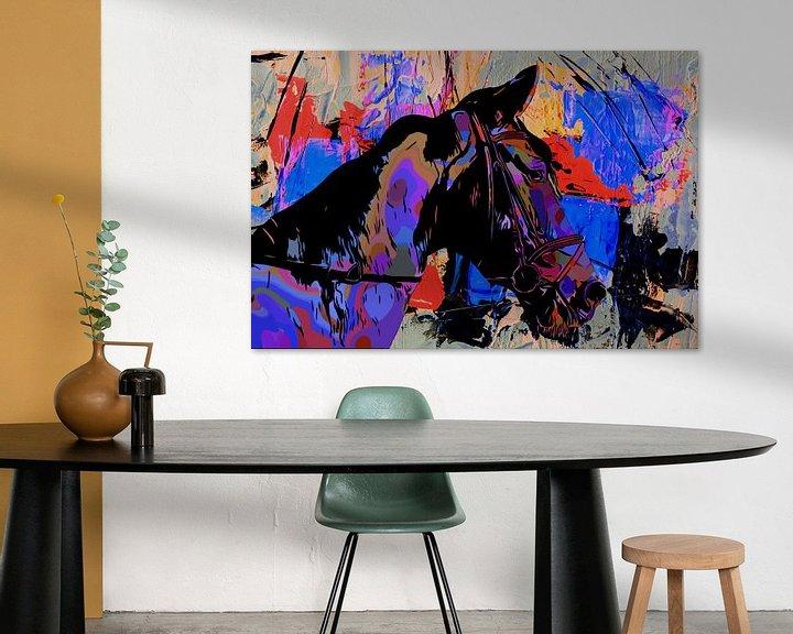 Impression: L'amour du cheval sur The Art Kroep