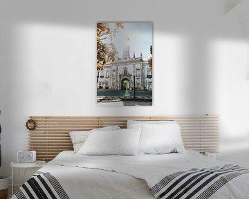 Arco da Villa, Stadt Faro. Algarve Portugal von Manon Visser