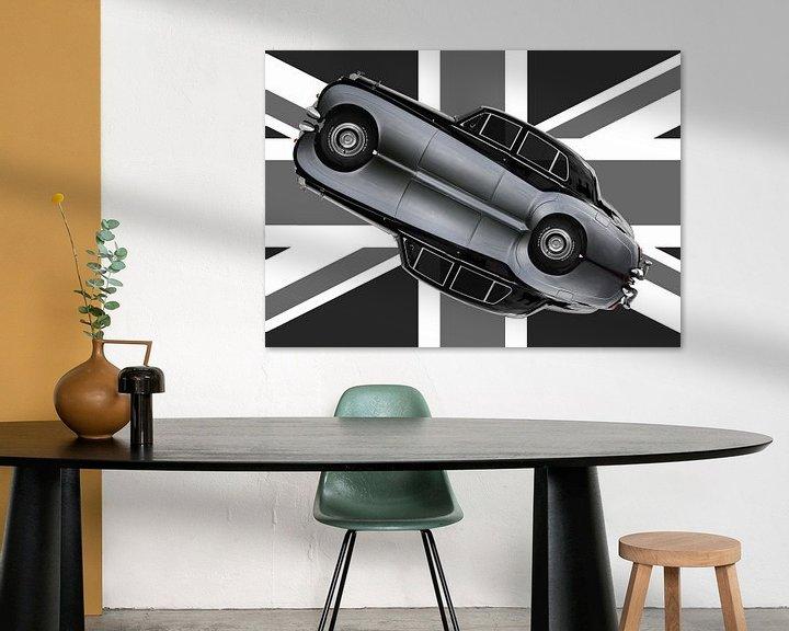 Beispiel: Bentley S2 in Originalfarbe von aRi F. Huber