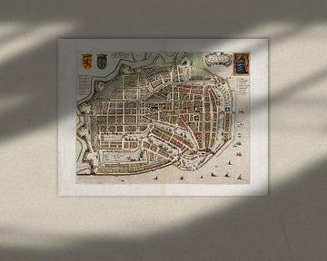 Plan d'étage Enkhuizen - 1649
