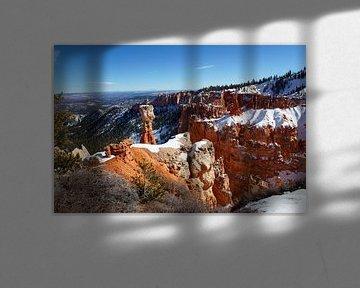 Thors Hammer Bryce Canyon National Park, Utah, Vereinigte Staaten von Discover Dutch Nature
