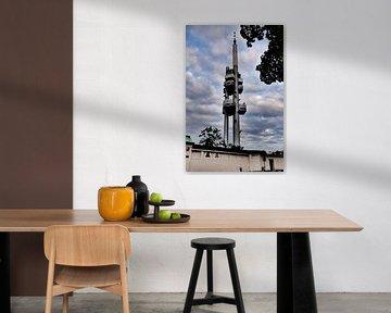 Prag - Babyturm (TV) von Wout van den Berg