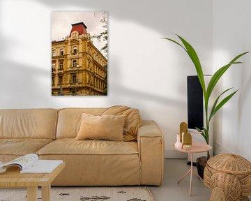 Prag - Roter Turm von Wout van den Berg