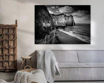 Etretat - Normandy France von Theo Hannink