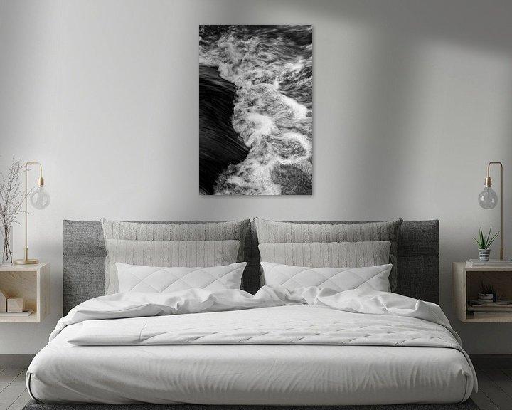 Beispiel: Wasser eines Baches in Detailansicht von Ralf Lehmann