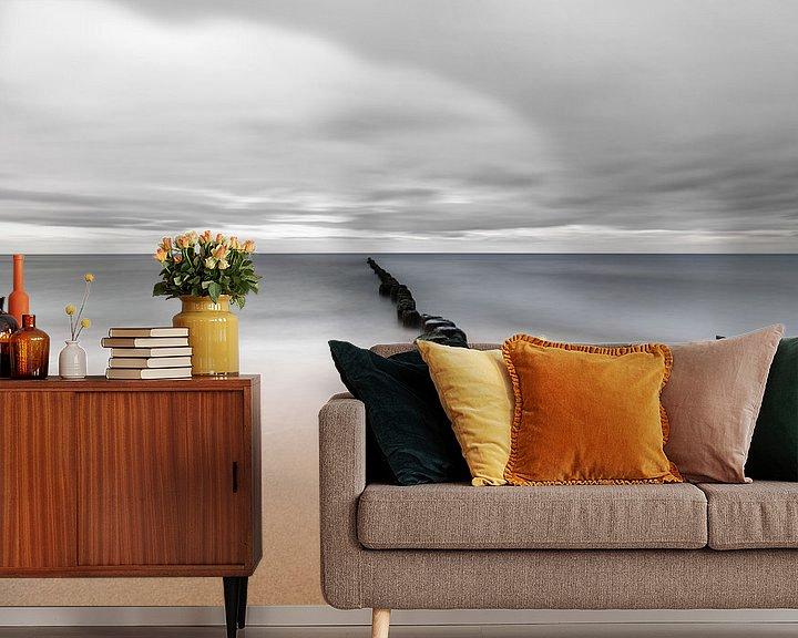 Beispiel fototapete: Stille Küste von Ralf Lehmann