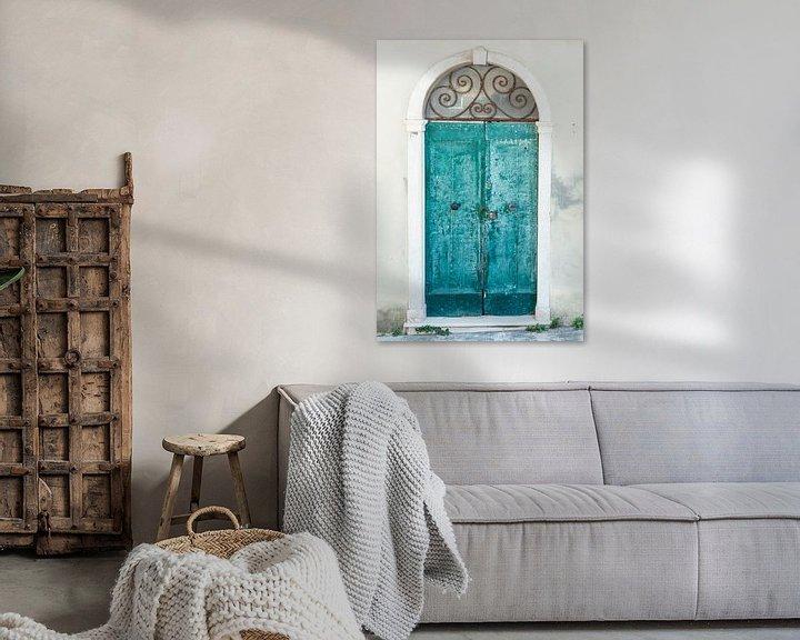Sfeerimpressie: Closed door in beautiful Toscane van Aminda