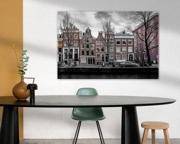 Leidsegracht Amsterdam von Johnny van der Leelie