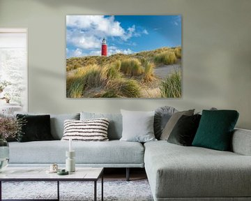 Vuurtoren, Texel van Edwin Kooren