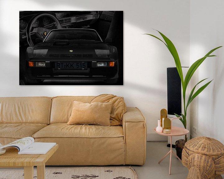 Beispiel: Porsche 924 Carerra GTS (Typ 937) in black von aRi F. Huber