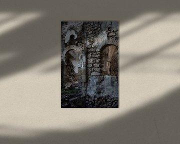 Ruin in Israel von Robert Beekelaar
