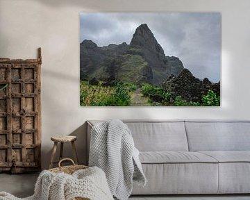 Volcanic Landscape van Robert Beekelaar