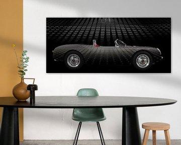 Porsche 550 Spyder Art Car Poster von aRi F. Huber