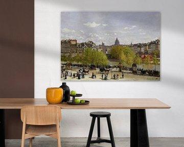 Quai du Louvre, Parijs, Claude Monet
