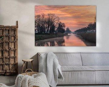 sky on fire van Tania Perneel