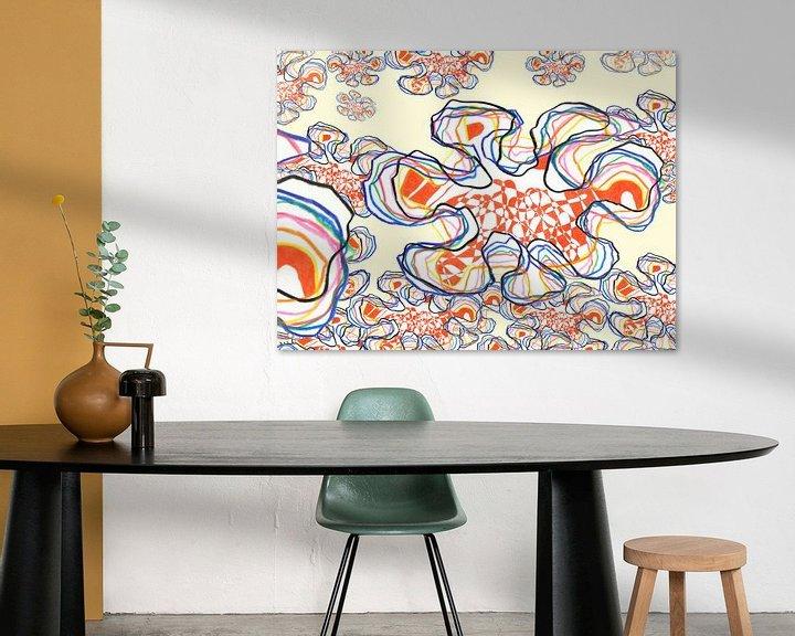 Sfeerimpressie: MyCorona 30x40 cm van Marc Otte