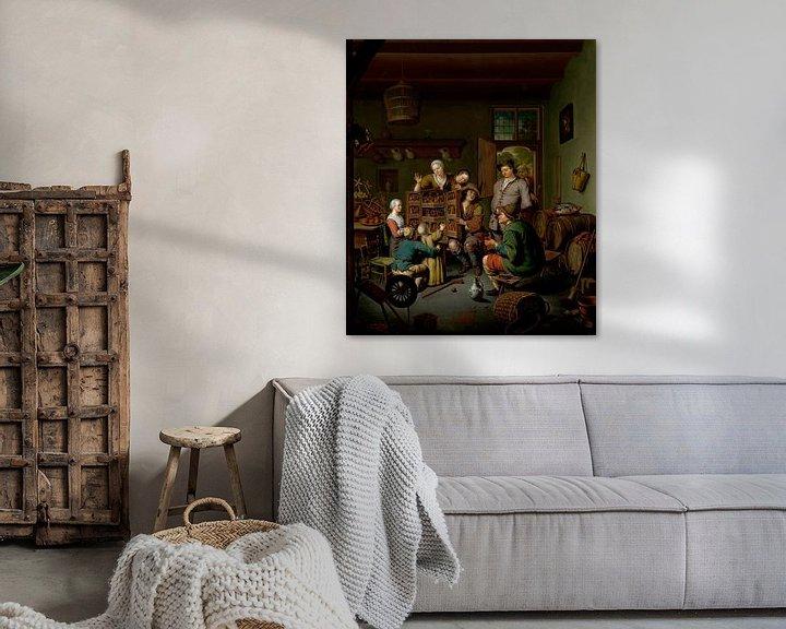Beispiel: Die Seltene Schau ('t Fraay Curieus), Willem van Mieris