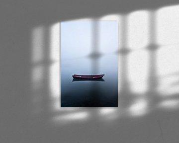 Het kleine rode bootje van Albert Lamme