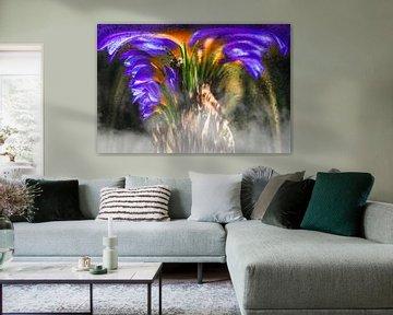 Concept flora : Crocus wings von Michael Nägele