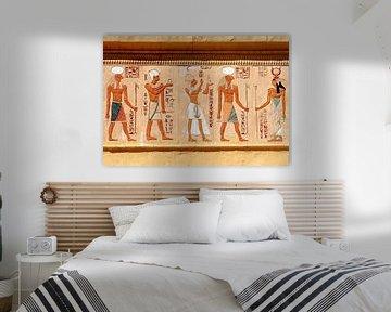 Symboles égyptiens sur Gert-Jan Siesling