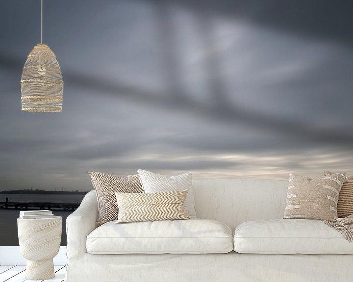 Sfeerimpressie behang: Veerse Meer van René Wolters