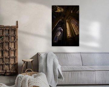 Walburgische Kirche bei Nacht von Arnold van Rooij