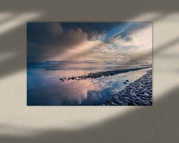 Het wad Texel van Texel360Fotografie Richard Heerschap