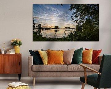 Bosjessteeg IJsselmuiden van Bert Visser