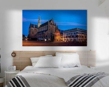 Die Grote oder St. Bavokerk in Haarlem von Arjen Schippers