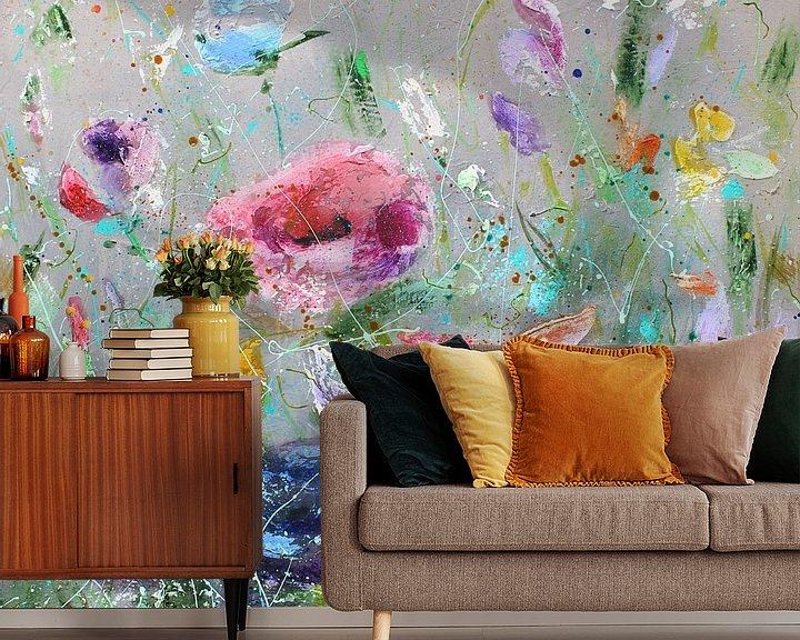 Beispiel fototapete: Wildblumen I von Atelier Paint-Ing