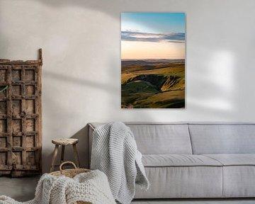Hügel im Peak Disctrict, England von Marco Scheurink