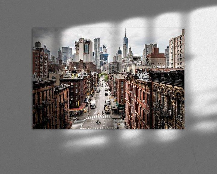 Beispiel: Stadtbild von Manhattan, New York von Atelier Liesjes