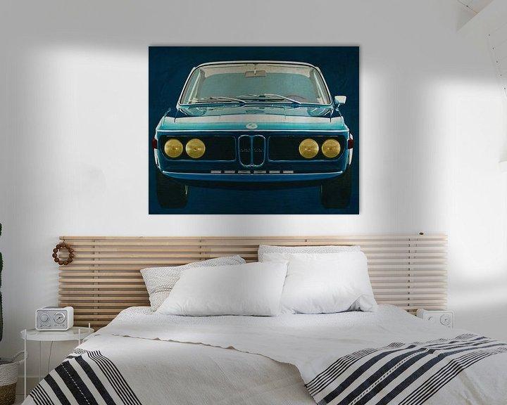 Beispiel: BMW 3.0 CSI 1971 von Jan Keteleer