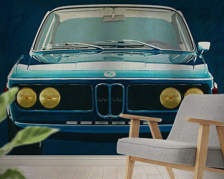 Beispiel fototapete: BMW 3.0 CSI 1971 von Jan Keteleer
